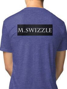 M.Swizzle Black Tri-blend T-Shirt