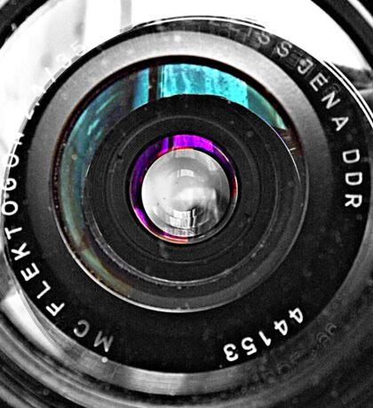 Through a Lens Sticker