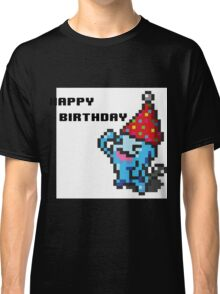 [Pokemon] 8Bit Wobuffet Birthday Card Classic T-Shirt