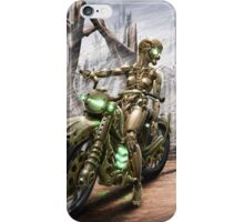 Cyberpunk Painting 023 iPhone Case/Skin
