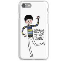Tight Pants - cartoon iPhone Case/Skin