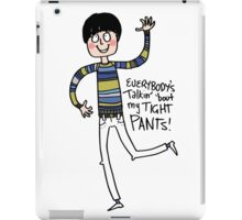 Tight Pants - cartoon iPad Case/Skin