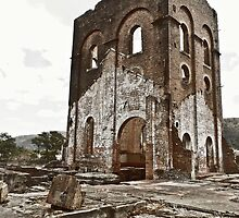 Lithgow Blast Furnace Ruins by KLEphoto-design