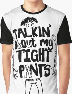 Tight Pants - black Graphic T-Shirt