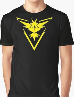 Pokemon GO: Team Instinct - Clean (Yellow Team) Graphic T-Shirt