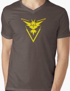 Pokemon GO: Team Instinct - Clean (Yellow Team) Mens V-Neck T-Shirt