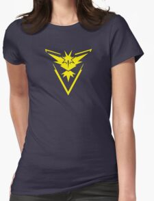 Pokemon GO: Team Instinct - Clean (Yellow Team) Womens Fitted T-Shirt