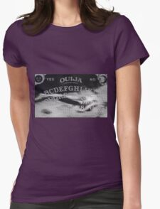 Ouija Board Mermaid Womens Fitted T-Shirt