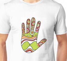 Colorful hands Unisex T-Shirt