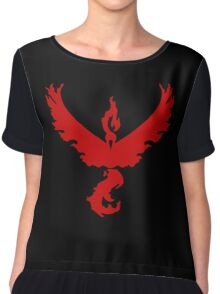 Pokemon GO: Team Valor - Clean (Red Team) Chiffon Top