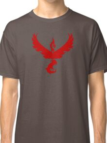 Pokemon GO: Team Valor - Clean (Red Team) Classic T-Shirt