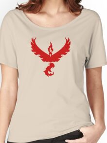 Pokemon GO: Team Valor - Clean (Red Team) Women's Relaxed Fit T-Shirt