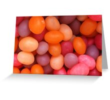 Jelly Beans Greeting Card
