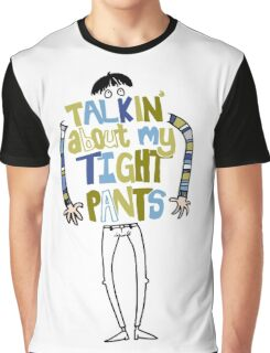 Tight pants - colour and black Graphic T-Shirt