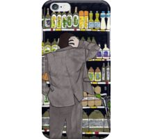 Indecisive at the supermarket iPhone Case/Skin