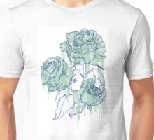 Blue roses Unisex T-Shirt