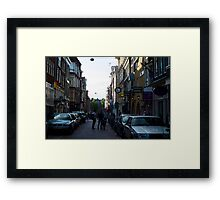 Streets of Amsterdam  Framed Print