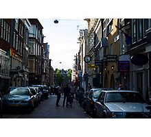 Streets of Amsterdam  Photographic Print