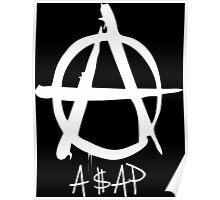 A$AP white Poster