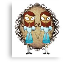 The Shining twins  Canvas Print