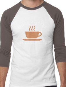 More Coffee, Less Assholes Men's Baseball ¾ T-Shirt