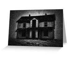 Haunted Abandonment... Greeting Card
