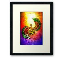 Tribal HoOh Framed Print