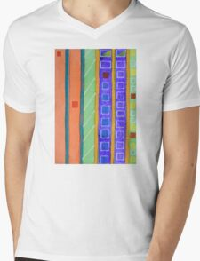 Modern Building Facade Mens V-Neck T-Shirt