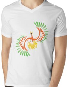 Tribal HoOh Mens V-Neck T-Shirt