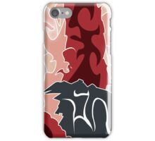 Mental Fade : Red Edition iPhone Case/Skin