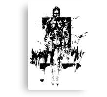The Boss MGS3 Canvas Print