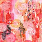 abstract flowers by Carolynne