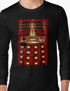dalek graphic t shirt doctor who Long Sleeve T-Shirt