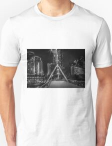 Pedestrian Bridge, Southbank in Melborne Unisex T-Shirt