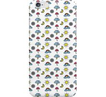 Weather pattern cute iPhone Case/Skin