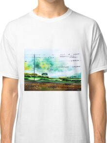 Birds line up Classic T-Shirt