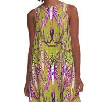 Himantoglossum caprinum A-Line Dress