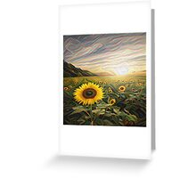 Nature in Waves Greeting Card