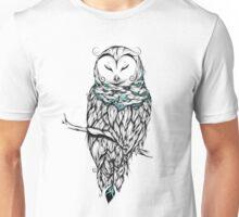 Poetic Snow Owl  Unisex T-Shirt