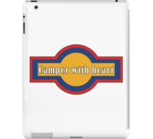 Camper with heart iPad Case/Skin