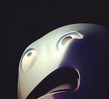 Scared Ghost by weirdbird