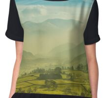The hills of the Lake District Chiffon Top