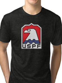 USPF - ESCAPE FROM NEW YORK Tri-blend T-Shirt