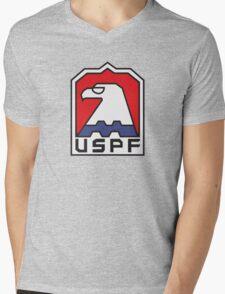 USPF - ESCAPE FROM NEW YORK Mens V-Neck T-Shirt