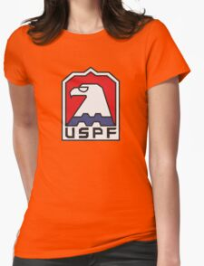 USPF - ESCAPE FROM NEW YORK Womens Fitted T-Shirt