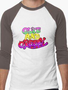Cute and Creepy Men's Baseball ¾ T-Shirt