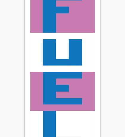 FUEL - RIVER RAID ATARI Sticker