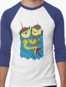 Bubblegum's Rock Shirt V1 Men's Baseball ¾ T-Shirt