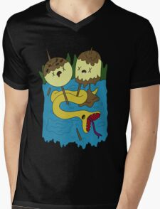 Bubblegum's Rock Shirt V1 Mens V-Neck T-Shirt