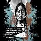 sitting bull by arteology